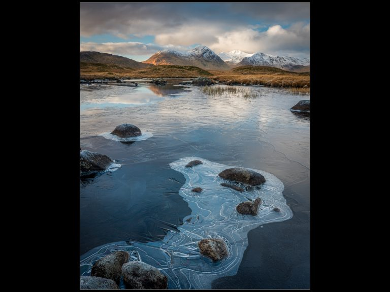 Print Commended_Blackmount Winter by Rob Hume