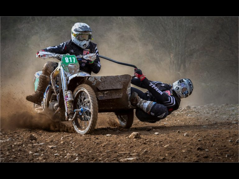 Print Highly Commended_Sidecar Racer by Bryan Cherry