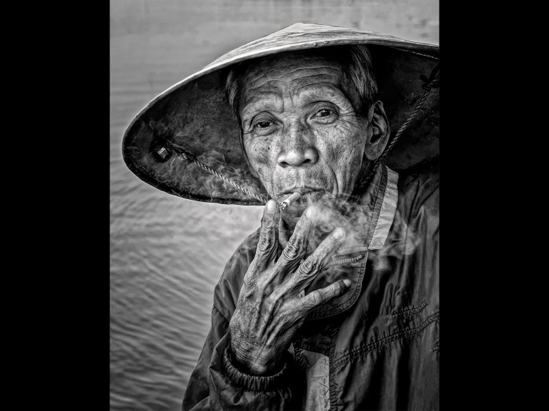 Print Very Highly Commended and Best Monochrome Image_Cigarette Break by Chris Ellison