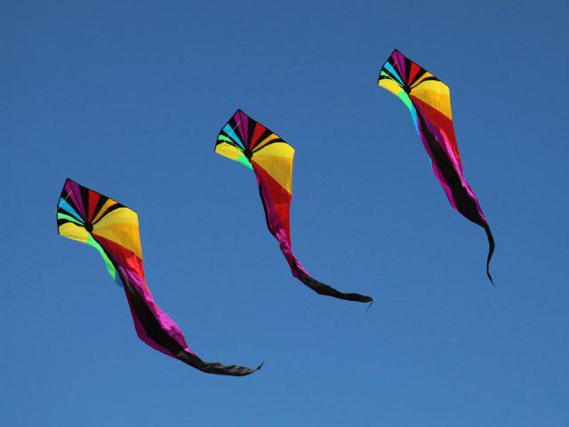 Three Kites