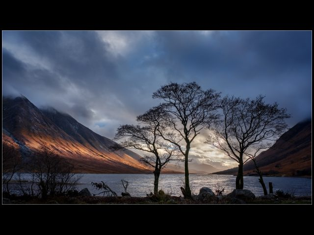 1021 Evening Light Loch Etive