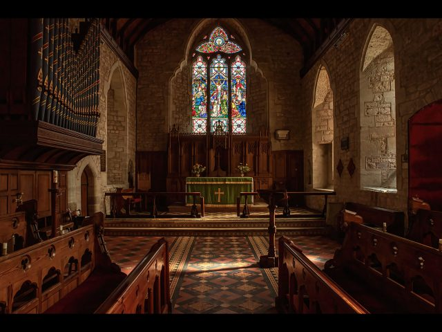 3rd place PDI_Ken Brown_Church interior Weobley Herefordshire