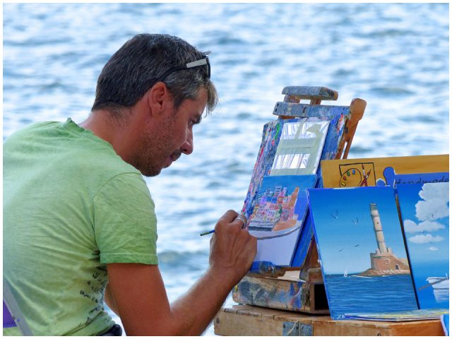 The Paint Artist